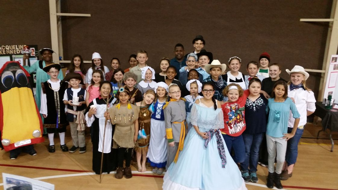 Baymeadows Christian Academy Photo #1 - 3rd through 8th grade History Fair and Wax Museum.