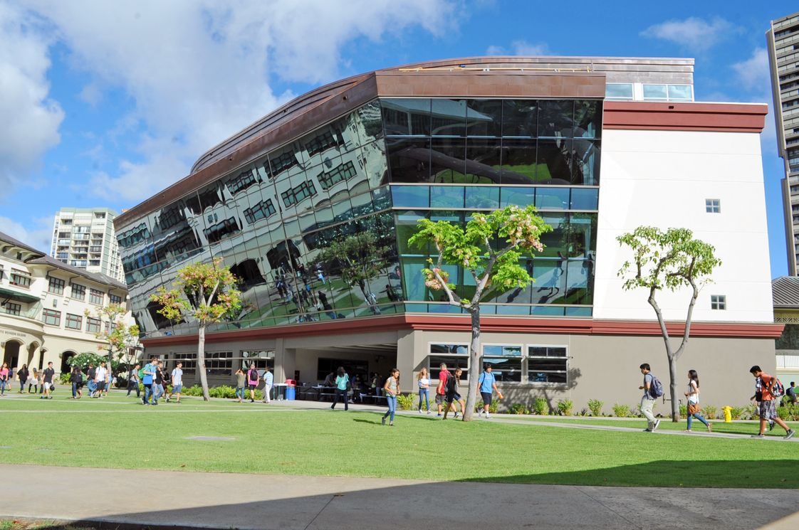Iolani School Photo - 'Iolani School's Sullivan Center for Innovation and Leadership rises in the center of the school's 25 acre campus.