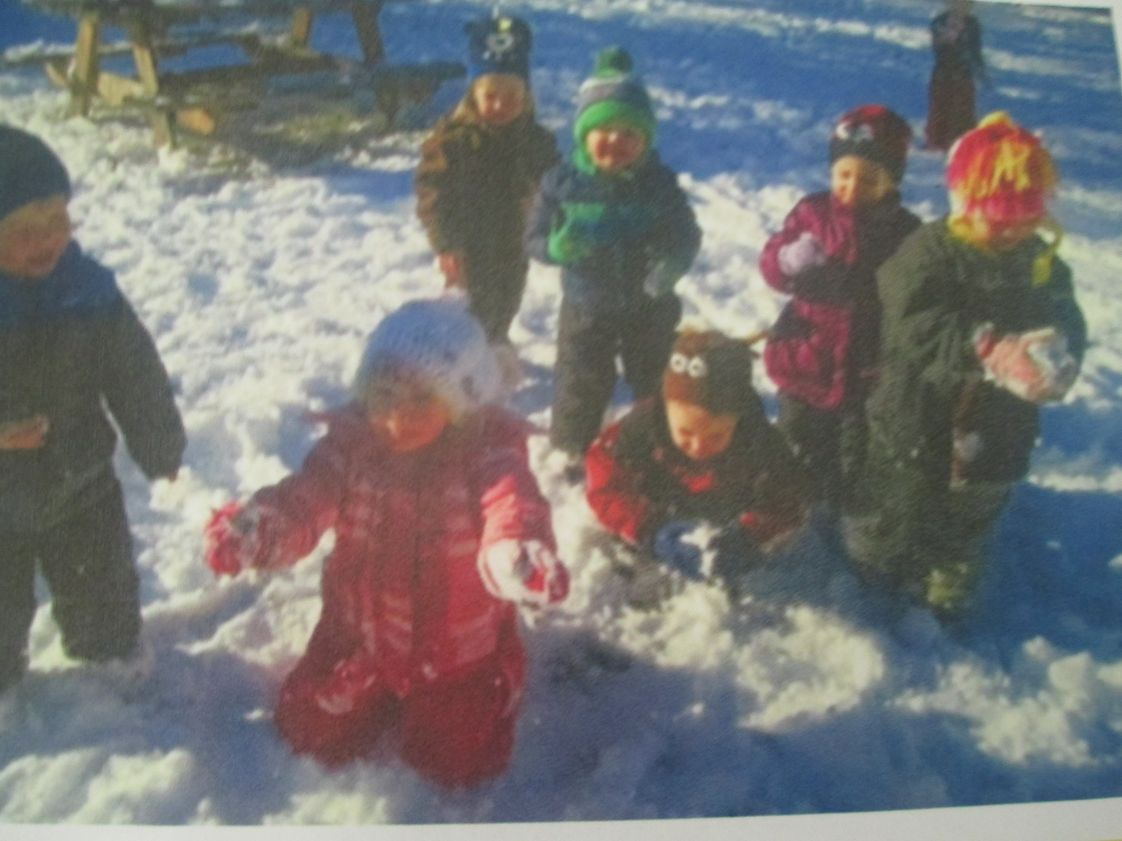 Sandpoint Christian School Photo #1 - We love the snow!