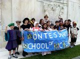 Upper Elementary annually participates in the Folger Shakespeare Library Student Festival