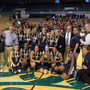 St. Mary's Lady's Spartans are the 2014 MIAA Div. III girls basketball champions!