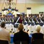 Lyman Ward Military Academy Photo #8 - Sword Drill performs during the annual Military Ball. Each member must put in over 100 hours of practice for their one and only performance.