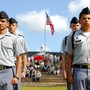 Lyman Ward Military Academy Photo #6 - Cadets during the Military Day drill competition.