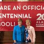 St Mary Catholic School Photo #3 - We are a Bicentennial School! We are proud to be chosen to represent our State as one of 200 Bicentennial Schools in Alabama! Pictured is Superintendent of Catholic Schools, Gwen Byrd with St. Mary Catholic School Principal, Debbie Ollis.