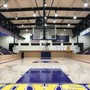 Archbishop Riordan High School Photo - A view of Riordan's recently-renovated gym. Riordan's basketball team nabbed its 15th CCS basketball title in the recent 2017-18 season.