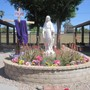 St. Mary-Basha Catholic School Photo #1 - Our students, faculty/staff and parents gather in prayer each morning in Mary's Garden.