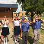 Wickenburg Christian Academy Photo #3 - WCA students used special glasses that were donated so they could experience the Solar Eclipse in what may be a once-in-a-lifetime event. Now, there's a bright idea!