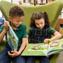 "St. Theresa School Photo #2 - Students in Preschool through 4th grade visit weekly for read aloud story-time, and library lessons including book genres, authors and choosing a ""just right book."""