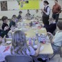 Calvary Christian School Photo - Students To build gingerbread houses at Christmas