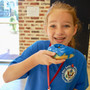 Our Lady of the Lake Roman Catholic School Photo #3 - OLL students celebrated our Blue Ribbon Award Day with special blue treats.