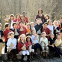 Butler Montessori Photo #2 - The Lower Elementary class showing off the tepees they made while studying American Indians and Pilgrims at Thanksgiving. Our 22-acre campus is well utilized as a part of the Montessori curriculum.