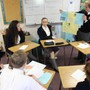 Redeemer Classical Christian School Photo #4 - A classroom discussion at Redeemer