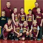 St John's Lutheran School Photo #8 - Coach M. and Coach Z. with the Boys' J.V. Basketball team in the winter of 2015. These boys experienced great success on and off the court while here at SJL.
