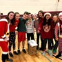 Traverse City Christian School Photo - The annual Christmas Cruncher is a blast enjoyed by everyone at TC Christian on the last day of school before the Christmas break.