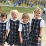 Ave Maria Academy Photo #2 - Students enjoying recess with their friends.
