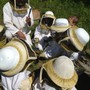 Lake Country School Photo - Beekeeping at our rural campus