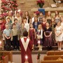 Trinity Lutheran School Photo - The Jr. Choir is singing in the Trinity Song Service.