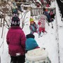 City Of Lakes Waldorf School Photo #10 - Our students enjoy outdoor play all year round.