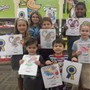 Cross Creek Christian Academy Photo #10 - Winners in our Book Fair coloring contest!