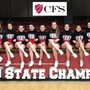 Christian Fellowship School Photo #4 - Our Cheer Squad is back to back state champions!