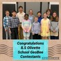 Immanuel Lutheran School - Olivette Photo #7 - Our Geo Bee finalists!
