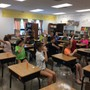St John Lutheran School Photo #3 - The 6th Grade Science class eager to participate.