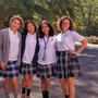 Our Lady Of Mercy Academy Photo - OLMA seniors...leading a world of change.