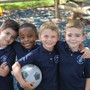 Princeton Academy of the Sacred Heart Photo - Kindergarten boys on the playground.