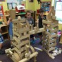 Creative Learning Center Photo - Block building is an essential part of our preschool and primary program. Through this activity, the children develop critical thinking skills, perseverance, language skills, mathematical and scientific understandings, as well as a strong self concept.