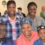Maplebrook School Photo #8 - happy student and family at International Awards Luncheon
