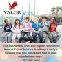 Valor Christian Academy Photo #4 - Preschool students enjoying some time on the playground. VALOR CHRISTIAN ACADEMY Preschool: Infants (6 weeks) - 4-year-olds Elementary School: Transitional Kindergarten (TK) - 8th Grade Middle School: 6th - 8th Grade