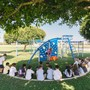 Huntington Christian School Photo #1 - P.E. fun on one of our two playgrounds!!!