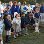 St John Catholic School Photo #5 - SJCS students and families gather with their pets (or stuffed animals) for our annual blessing of the pets.