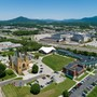 Roanoke Catholic School Photo #2 - A look over the Roanoke Catholic School campus and the surrounding area. Roanoke is located in the heart of the Blue Ridge Mountains and has the perfect balance between city and nature.