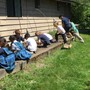 Montessori Academy At Spring Valley Photo #4 - Students enjoy gardening in the Spring then harvesting in the Fall.