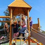 Marin Primary & Middle School Photo #1 - Children of all ages love the newly renovated schoolyard.