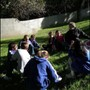 Odyssey School Photo #4 - Odyssey students use their new campus grounds to explore Outdoor Education.