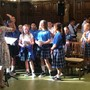 Our Lady Of Mount Carmel School Photo #2 - School choir performing at the monthly all school mass in Our Lady of Mount Carmel Church (across the playground from the school building).