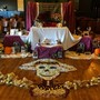 Youth Initiative High School Photo #7 - Throughout the year we dedicate theme days for which students help to build a series of special classes and enrichment activities (pictured: the altar built during the Dia de Los Muertos celebration).