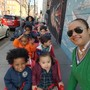 Genesis Educational Center Photo #1 - Tiny Tots going for a stroll around the neighborhood with Mrs. Kandie!