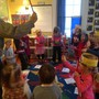 Cricket Hunt School Photo - Ms. Mahaney's and Mrs. Ashe-Ford's classes (3-5 year olds) celebrate New Year's at school!