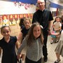 Holy Cross Catholic School Photo #2 - Fr. Eric, School Superintendent with students. Holy Cross Catholic School#Greathappenshere!
