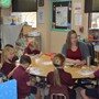 Faith Lutheran Academy Photo #4 - 1st grade in a small reading group.