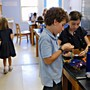 The New Classical Academy Photo #4 - Handcrafts like sewing are a popular afternoon activity for both boys and girls.
