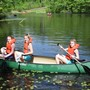 St. Michael's Episcopal School Photo #6 - Canoeing on St M's Lake Winston. Along with a lake, our unique campus contains mountain biking and walking trails, as well as 70 acres of learning opportunities -- all with a convenient campus location close to the city.