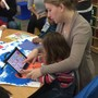 Monarch Center for Autism Photo #6 - Using an iPad to assist with speech/language