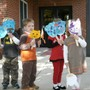 The Little Tree Preschool Photo #2 - Each fall we learn about Noah's Ark and have an animal parade.