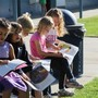Ripon Christian Schools Photo #5 - Elementary students enjoy some time in the sun