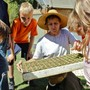Sacramento Waldorf School Photo #6 - Sacramento Waldorf School`s bio-dynamic farm is an integral, hands-on classroom along the American River. Students learn to care for animals and plant and harvest crops.