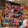 San Luis Obispo Christian School Photo - All School Field Trip to Avila Valley Barn. A hayride to the pumpkin patch, picking a pumpkin, seeing the farm animals and running through the maze. A great time for the whole family!